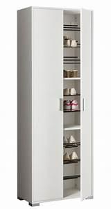 Armoire à Chaussures : armoire a chaussure easy blanc ~ Teatrodelosmanantiales.com Idées de Décoration