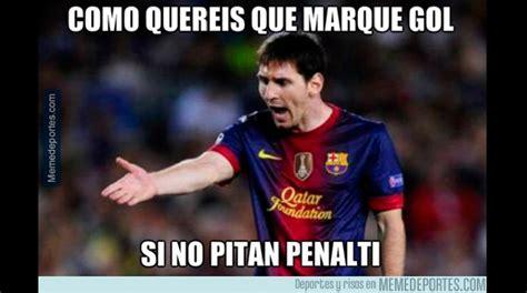 Los Memes De Messi - los memes que se burlan de messi y la eliminaci 243 n del barcelona foto galeria 1 de 13 el