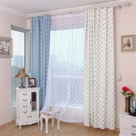 factory direct polka dot curtains cheap window shades