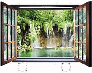Fenster Kaufen Bei Hornbach : fototapete 1961vez4xl vlies fenster wasserfall 201 x 145 cm bei hornbach kaufen ~ Watch28wear.com Haus und Dekorationen