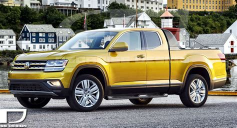 New Vw Truck by Vw Atlas Concept Tipped To Debut At New York Auto