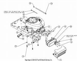 Troy Bilt 13am77ks011 Pony  2016  Parts Diagram For Engine Accessories