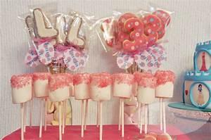 Mesa dulce cumpleaños Princesas Disney El Horno de Lucía