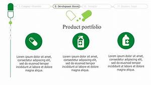 medical company overview powerpoint template slidesbase With company introduction presentation template