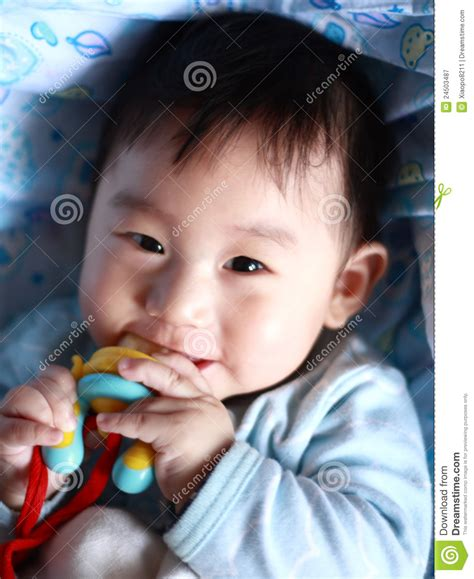 Baby Teething Royalty Free Stock Photography Image 24503487