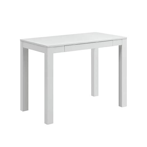 Altra Parsons Desk White by Altra Parsons Desk With Drawer White The Edit