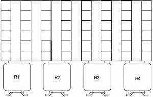 Bmw Z3  1995 - 2002  - Fuse Box Diagram