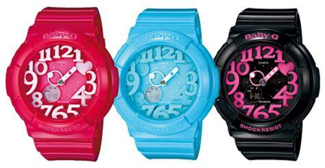 jam tangan sporty baby g jual jam tangan untuk remaja casio baby g neon