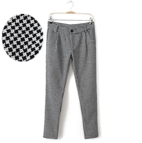 Black And White Womens Pants