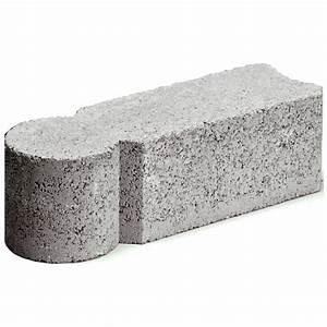 Bordure En Ciment : bordure d 39 am nagement paysager de b ton en i gris rona ~ Premium-room.com Idées de Décoration