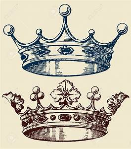 Old Crown Set Royalty Free Cliparts, Vectors, And Stock ...