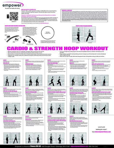 hoop workout hula weighted empower hoops hooping workouts fitness hoola physical body fun