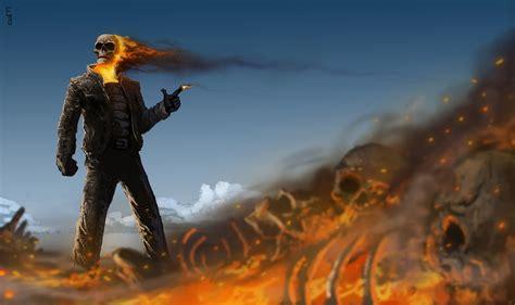 gunslinger ghost rider hd superheroes  wallpapers