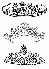 Coloring Crown Princess Pages Drawing Queen Tiara Royal Type King Printable Template Pencil Crowns Colouring Sketch Netart Getdrawings Sheets Templates sketch template