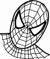 Spiderman Coloriage Coloring Daredevil Template Imprimer Visage Coloriages Dessin Colorier Sheet sketch template