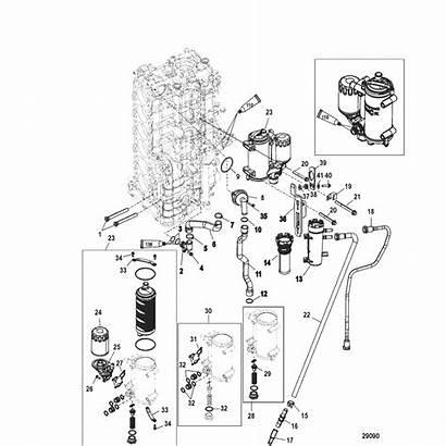 Starboard Cylinder Below Section Cooler Block Oil