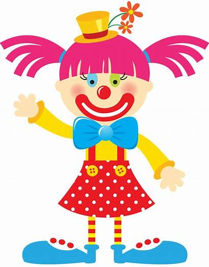 Circus Clown Clipart Clowns Minus Carnaval Clip
