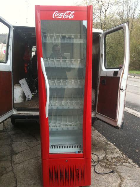 vitrine coca cola gratuit grande vitrine refrigeree coca cola occasion
