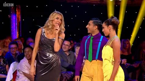 Tess Daly - Silver Dress - Strictly Come Dancing Blackppol ...