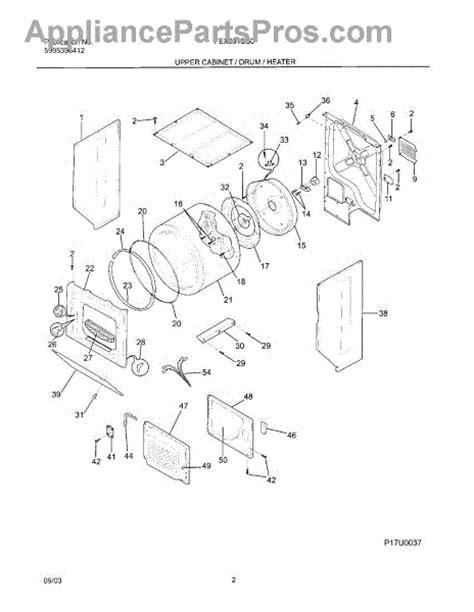 frigidaire 131359602 filter lint l c appliancepartspros