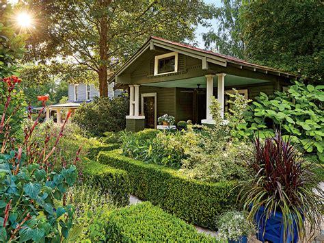 Backyard Garden by Landscaping Ideas Front Yard Backyard Southern Living