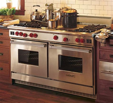 commercial stove with knobs wolf oven wolf appliances prices