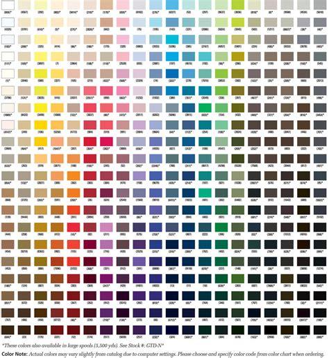 thread colors gutermann mara 30 100 polyester threads 300 m 1 spool