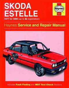 Skoda Estelle 1977 1989 Haynes Service Repair Manual