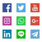 Icons Social Logos Networks Freepik