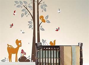 Motive Für Babyzimmer : 15 s e ideen f r babyzimmer wandgestaltung ~ Michelbontemps.com Haus und Dekorationen