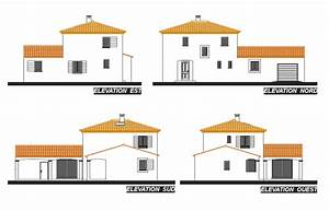 Plan Facade Maison : maison contemporaine en l avec une tour centrale ~ Melissatoandfro.com Idées de Décoration