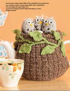 Owl Tea Cosy Knitting Pattern Download 803726