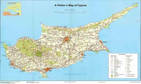 Pe harta de la cadastru se vede terenul ocupat şi îngrădit abuziv sursa. Harta turistica Cipru - Portal Turism