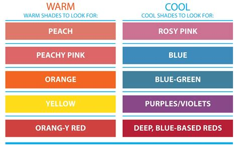 cool colors vs warm colors redefining the of how to determine your skin