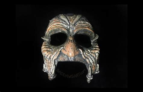 Jeepers Creepers Paper Mache Masquerade Carnivale Face Mask
