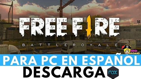Hoy, aprenderás a descargar free fire gratis 2021, en su ultima versión. Como Descargar Free Fire Para Pc Windows 7/8/10 /2019 ...