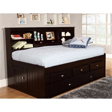 full size daybed frame size daybed frame with storage wooden global 15328
