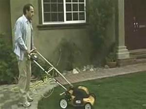 The Electric Lawn Mower Funny
