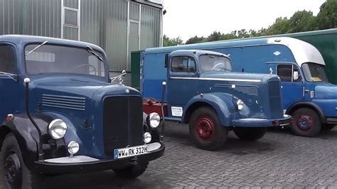 Maybe you would like to learn more about one of these? Old german Mercedes-Benz trucks in HD - YouTube