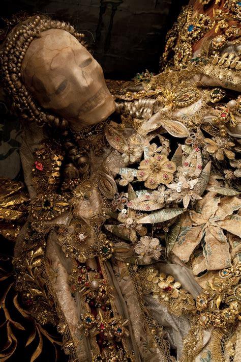 medieval bling skeletons encrusted  jewels  gold