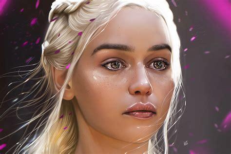 khaleesi fan art  hd artist  wallpapers images