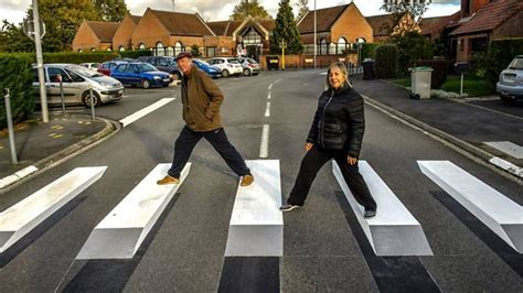 Would These Floating 3d Zebra Crossings Slow You Down?  Bbc Three