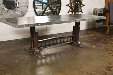 industrial looking dining room tables industrial style dining table at 1stdibs