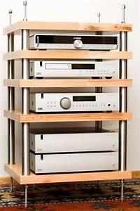 Hifi Möbel Design : die besten 25 hifi rack ideen auf pinterest audio rack ~ Michelbontemps.com Haus und Dekorationen
