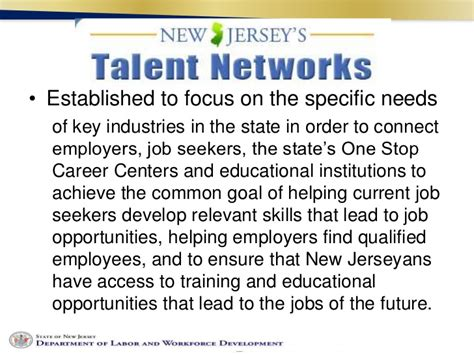 Nj Labor Market Information What's Hot And What's Not?