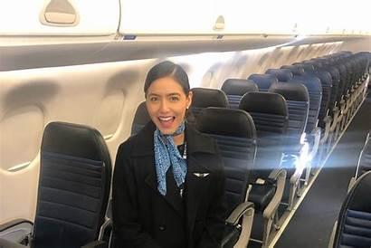 Flight Attendant Airlines Mesa Airways British Feature