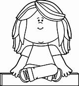 Coloring Puppet Puppets Clipart sketch template