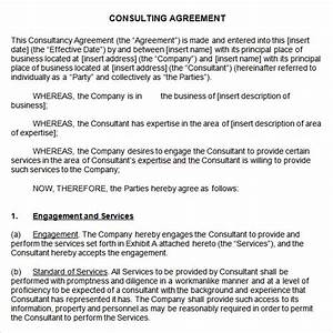 Business Development Agreement Template 10 Sample Consulting Agreements Sample Templates