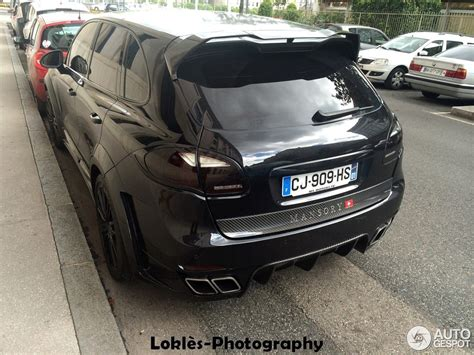 Porsche Cayenne By Mansory Spotted In France