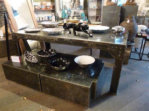 table bureau pied bobine tables de salle 224 manger et mobilier sur galerie d 233 mesure
